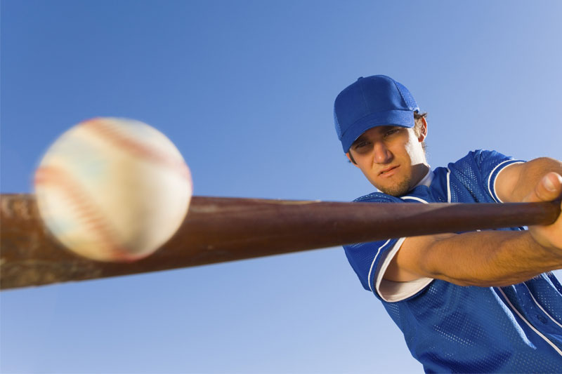 Hitting a Home Run with Perfect Vision